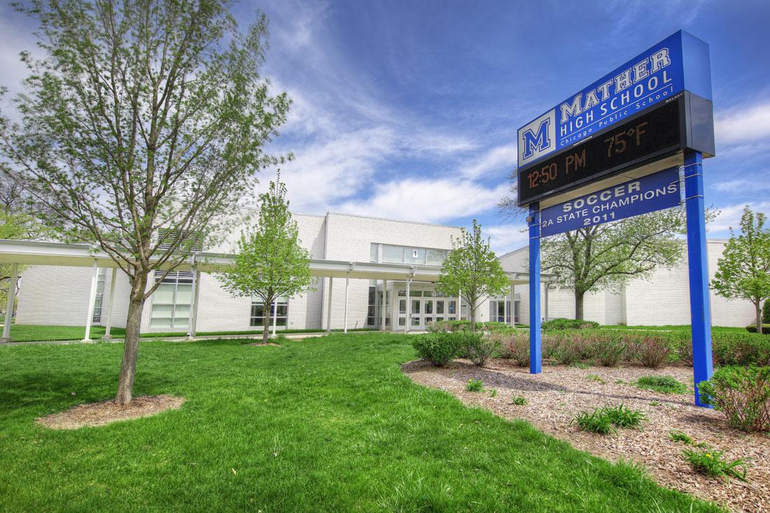 Mather High School Tyler Lane Construction Inc